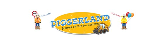 diggerland logo sheerness holiday park at isle of Sheppey caravan park
