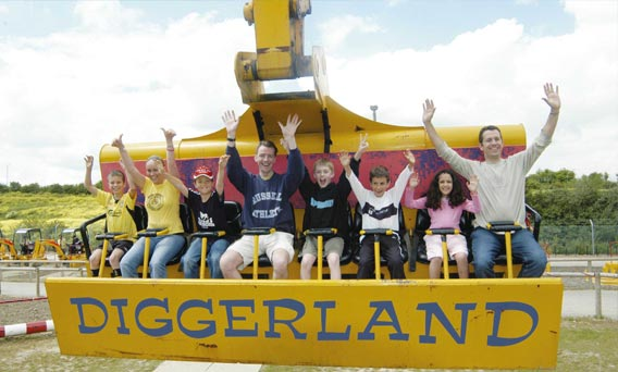 diggerland sheerness holiday park at isle of Sheppey caravan park