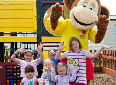 monkey club sheerness holiday park at isle of Sheppey caravan park